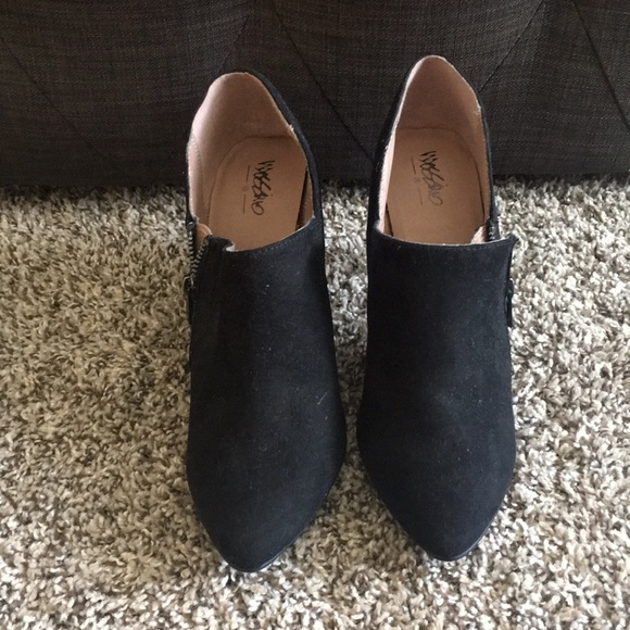 Mossimo Supply Co. Shoes - Black Ankle boots